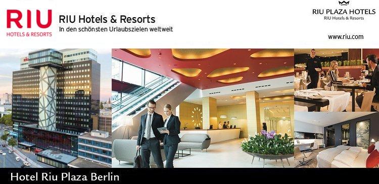 Job offer: Allrounder Housekeeping in Berlin at Hotel Riu Plaza Berlin
