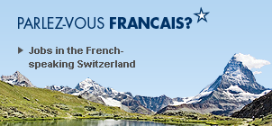 Job in French speaking Switzerland